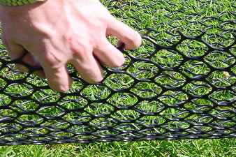 Grass Protection Mesh - Parking on Grass